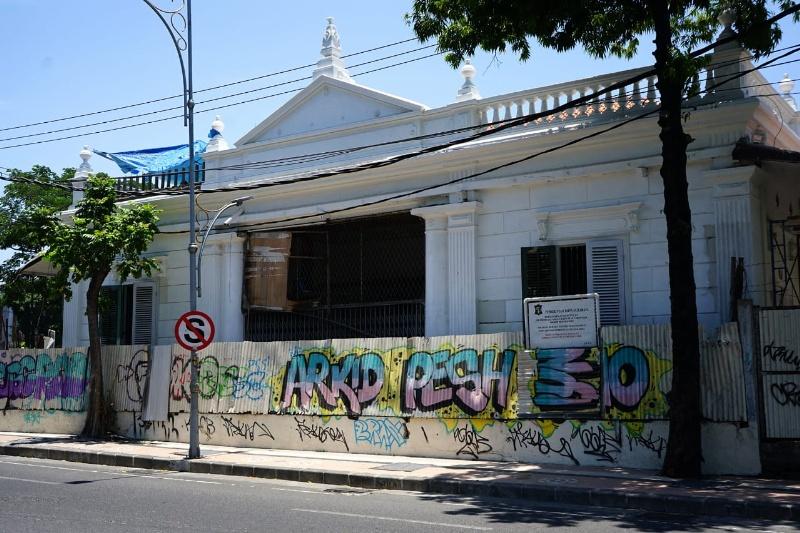 Bangunan lama yang akan dijadikan museum pendidikan oleh Pemkot Surabaya