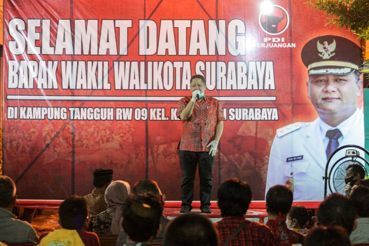 Wakil Wali Kota Surabaya Whisnu Sakti Buana