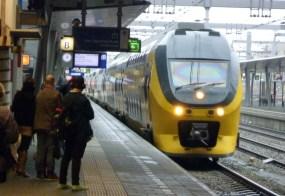 Der lang ersehnte Zug
