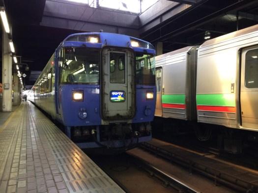 札幌駅サロベツ号 稚内行き