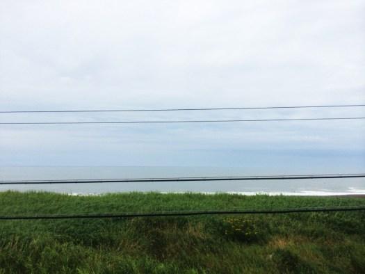 根室本線 太平洋を望む