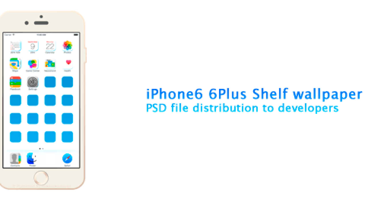 Iphone6 6plusの壁紙テンプレートpsdファイル Photoshop用 Ios Calendar Blog
