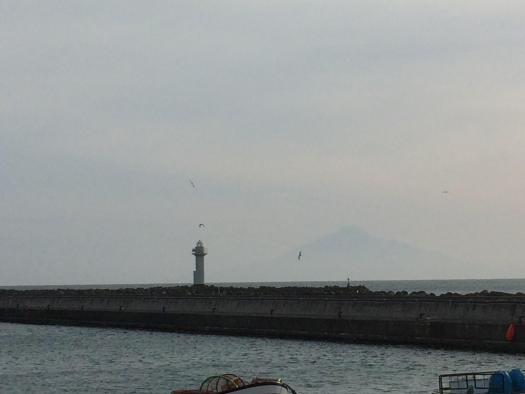 ノシャップ岬から利尻富士