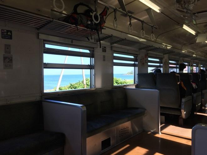 留萌本線 日本海