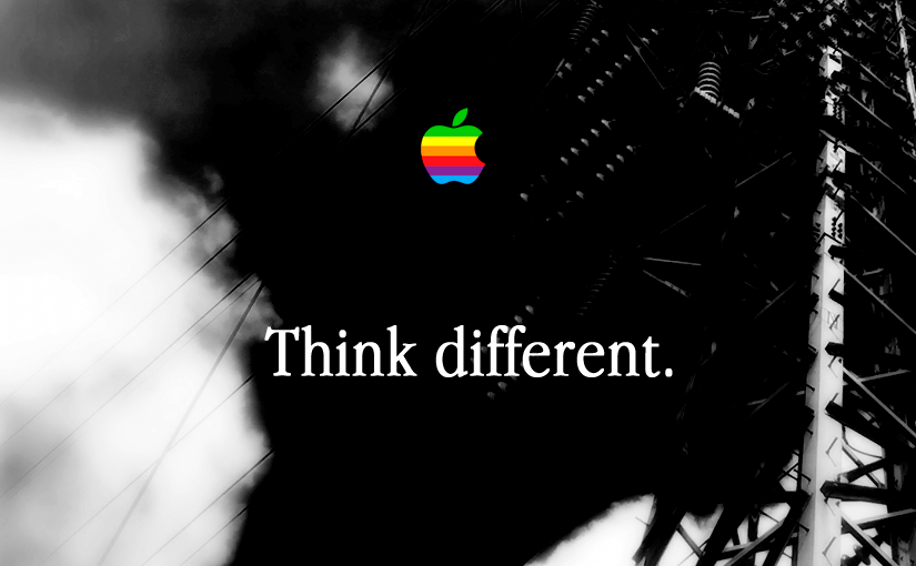 iPhone壁紙「Think different.」