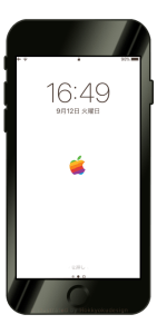 iPhone X/8/8Plus壁紙「Apple Mark」