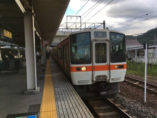 米原・大垣からの接続列車