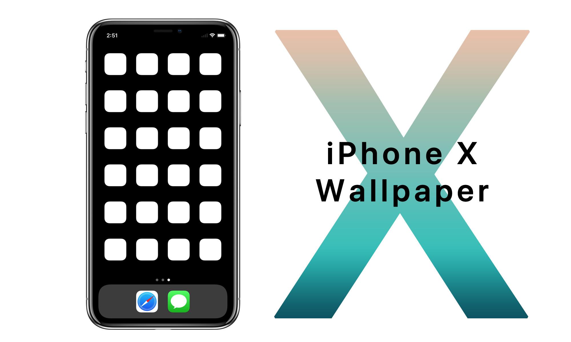 Iphone X用の動く壁紙 X 完成 Ios Calendar Blog