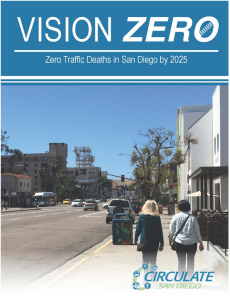 For a full copy of the report, click on the image or click ##http://circulatesd.nationbuilder.com/visionzerosd##here.##