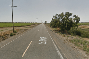 The crash occurred on County Road 19 near Woodland, where it is clearly difficult to see for any distance.
