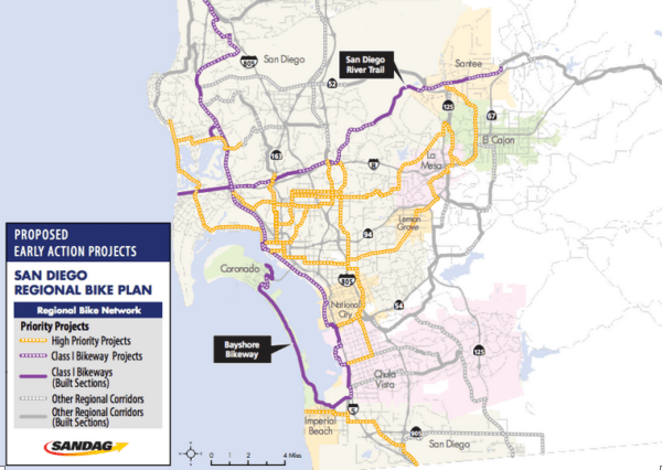 There's a higher-res version of this map at the Regional Bike Plan Fact sheet. ##http://www.sandag.org/uploads/publicationid/publicationid_1386_8479.pdf##PDF##