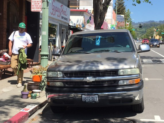 Disabled drivers face all kinds of obstacles but not necessarily financial ones. Image: Melanie Curry/Streetsblog California