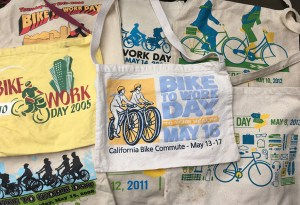 Bike East Bay has given out some version of these goodie bags for more than 20 years. Photo: Melanie Curry/Streetsblog