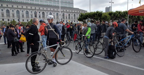 Bike to Work Day 2016 at San Francisco City Hall