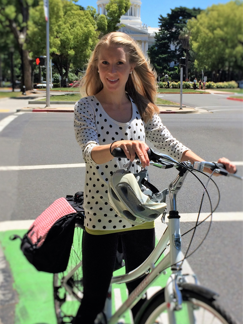 Meet Rachel Carpenter, new Caltrans Chief of Pedestrian and Bicycle Safety. Photo courtesy Caltrans
