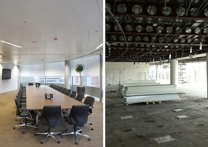 ceiling tile cleaning vs ceiling tile
