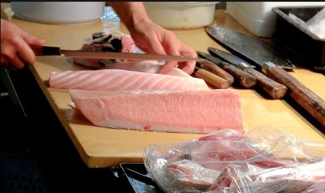 otoro fish market Shiogama