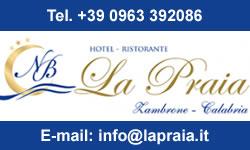 Hotel La Praia a Zambrone - Tropea