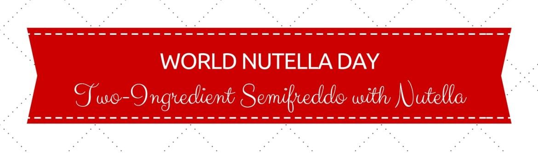 Nutella Day Blog Image