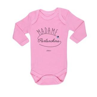 Ropa Bebe Body Calambur 100% algodón Moda Infantil Pilucho Madame Parlanchina