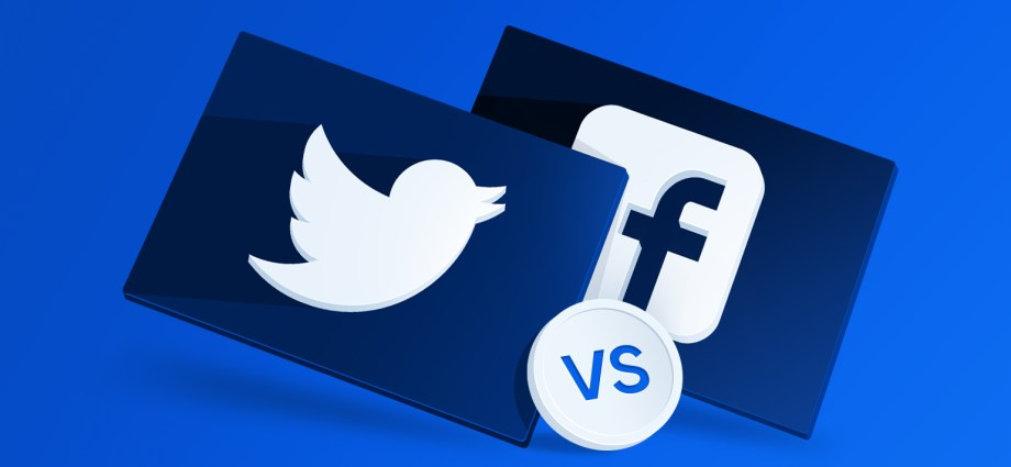 facebook v/s Twitter policy