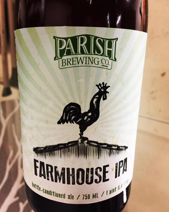 Congratulations to @parishbrewingco Farmhouse IPA for winning the top beer in Louisiana at the 2016…