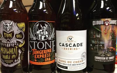 It's new brew Thursday at our Perkins Rd location! Come check it out! @stonebrewingco @cascadebrewing…