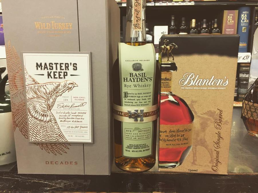 We also have some new whiskeys in stock at our Perkins Rd location! All 3…