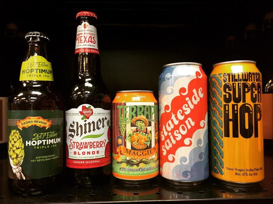 It's #newbrewthursday at our Perkins Rd location! @stillwater_artisanal @shinerbeer @sierranevada @terrapinbeerco #beerstagram #beers #freshhops
