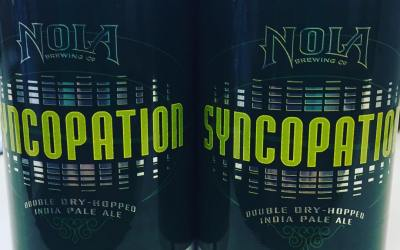 @nolabrewing Syncopation Double Dry-Hopped IPA is now available at our Perkins Rd location! #beer #nola…