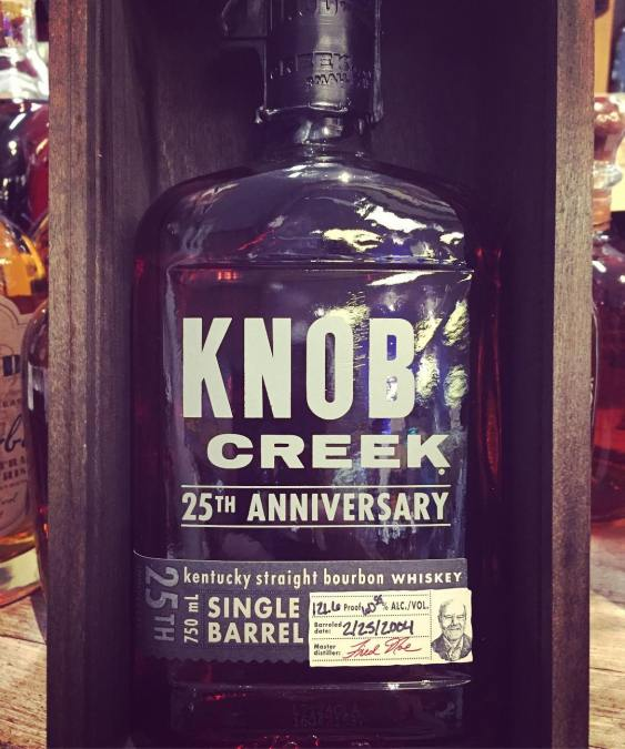 @knobcreek 25th Anniversary is now in stock at our Perkins Rd location! @jimbeamofficial #liquor #strongwater…