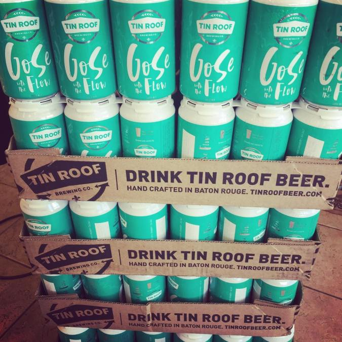 @tinroofbeer Gose with the Flow in CANS is now available at our Perkins Rd location!…
