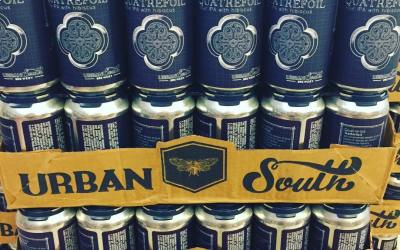 @urbansouthbeer Quatrefoil, kettle-soured IPA with Hibiscus, is now available at our Perkins Rd location! #beer…