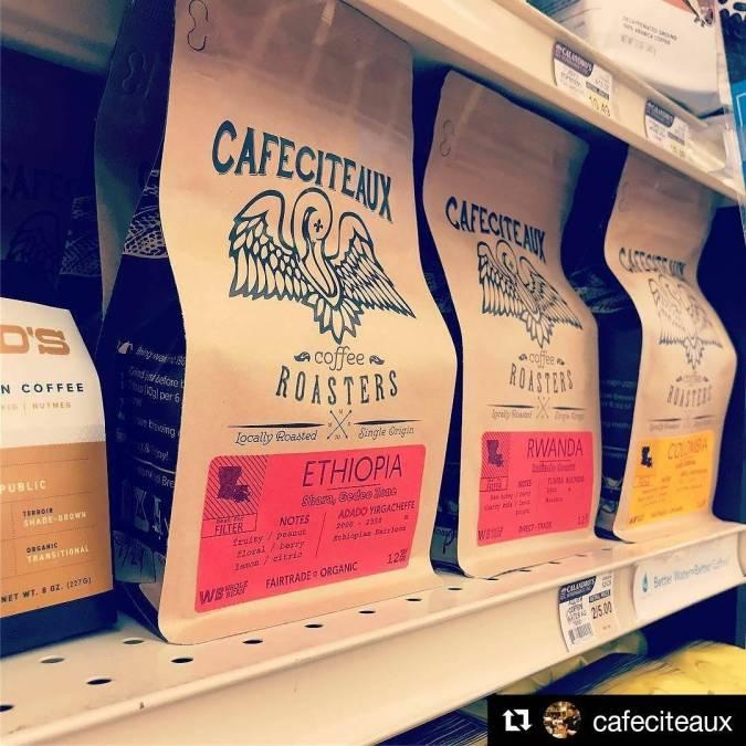 #restock (Yaaaas!) #localroast #grocery #gourmet #Repost @cafeciteaux ・・・ @calandrosmkt + @cafeciteaux = #freshcoffee #gobr #geauxlocal…