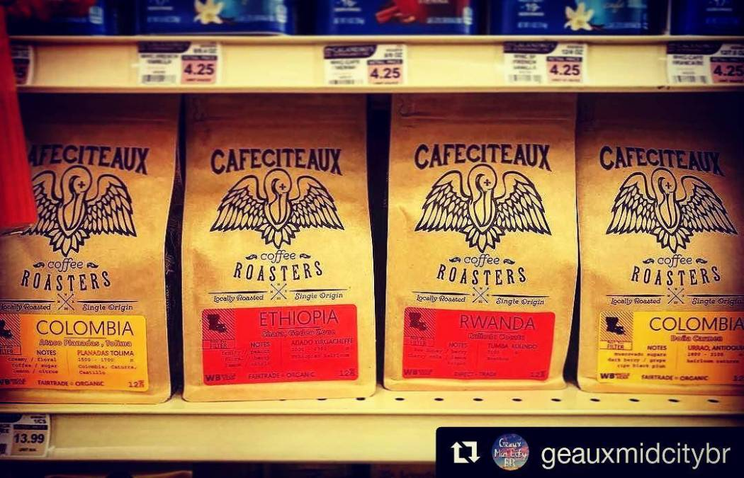 #localroast & #localcaffeine FTW! ☕☕☕💯💯💯 #Repost @geauxmidcitybr ・・・ ☕️☕️☕️ Stop by @calandrosmkt on Government St….