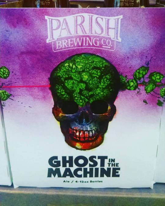 Back in stock at Perkins #summerofghost #gitm #beer #hops @parishbrewingco