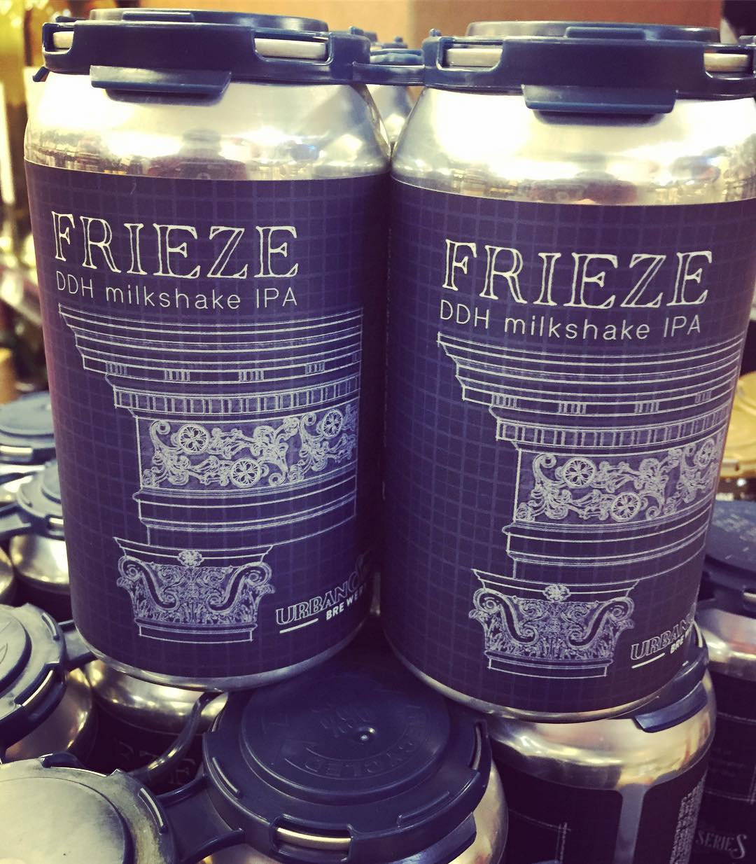 @urbansouthbeer Frieze DDH Milkshake IPA is now in stock at our Perkins Rd location! Limit…