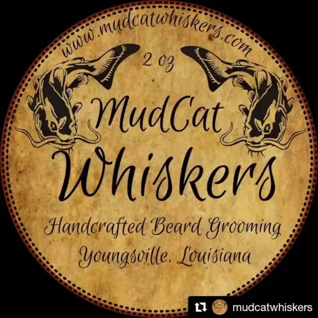 Mudcat your whiskers today! We're all stocked up @ Calandro's Perkins… . #beardbalm #mudcat #mudcatwhiskers…