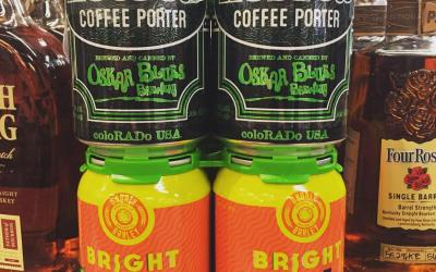 @gnarlybarley Brightside IPA and @oskarblues Hotbox Coffee Porter are now in stock at our Perkins…