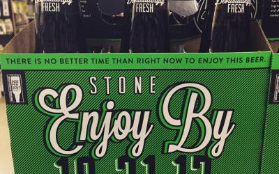 @stonebrewing Enjoy By 👻 🎃 is now available at our Perkins Rd location! #freshhops #beer…