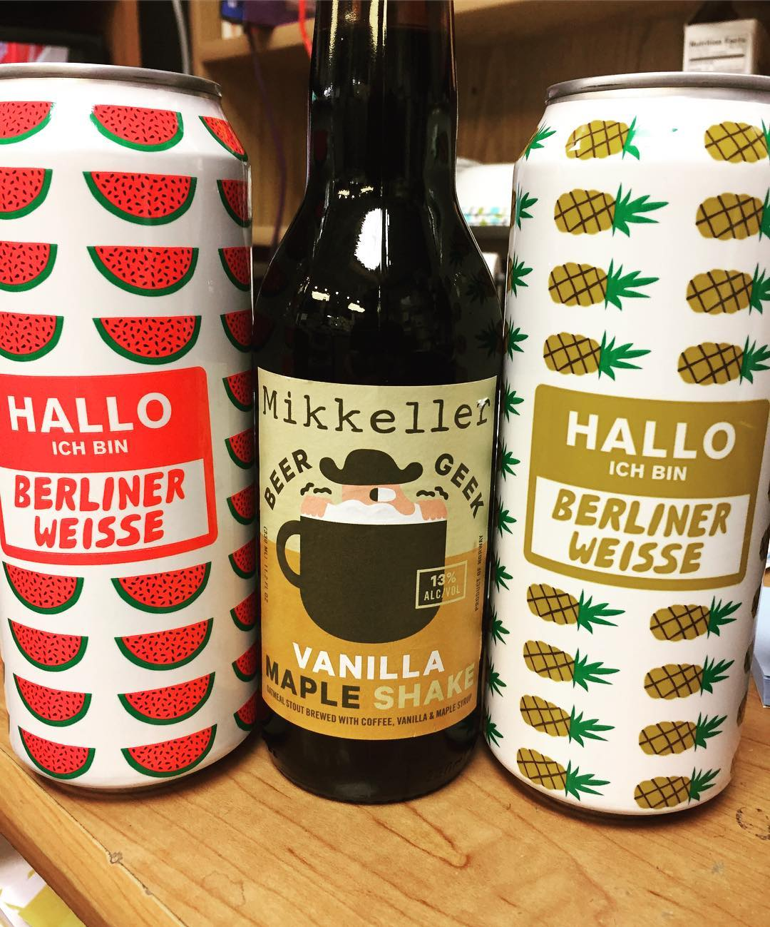 New brews from @mikkellerbeer in stock at our Perkins Rd location! Thanks @sheltonbrothers #beer #fruitedbeer…