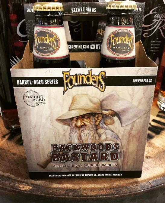@foundersbrewing Backwoods Bastard is now in stock at our Perkins Rd location! #beer #grumpyoldman #winterbeer…