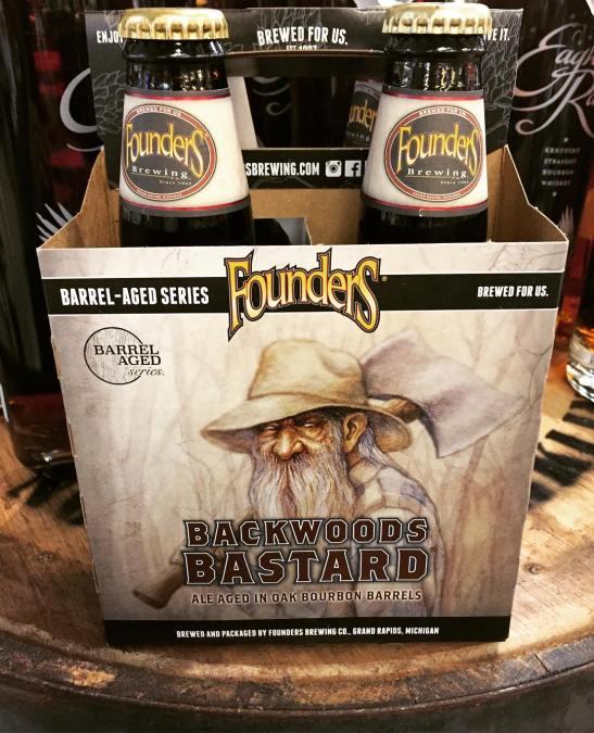 @foundersbrewing Backwoods Bastard is now in stock at our Perkins Rd location! #beer #grumpyoldman #winterbeer…