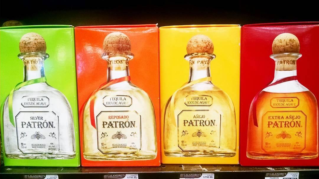 Patron has a new family member! #extraanejo #patron #spirits #tequila @patron