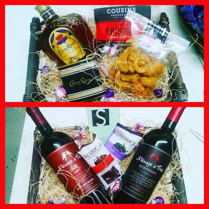 His and Hers custom gift baskets from @calandrosmkt on Perkins are always a hit! #tistheseason…