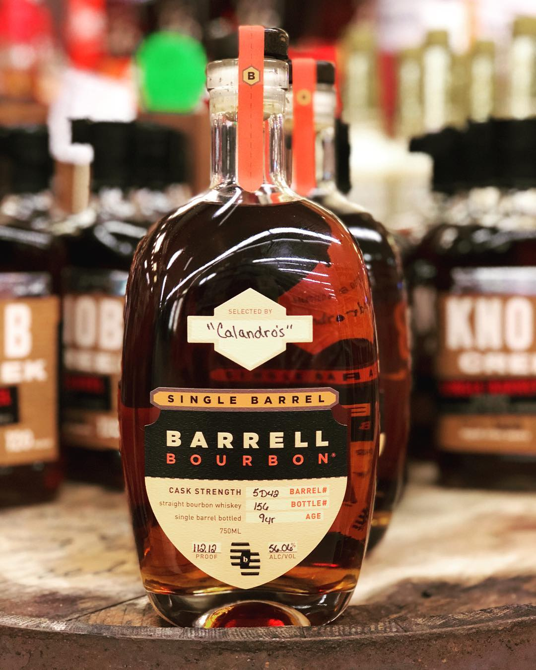 Our newest hand selected barrel of bourbon is now available at our Perkins Rd location!…