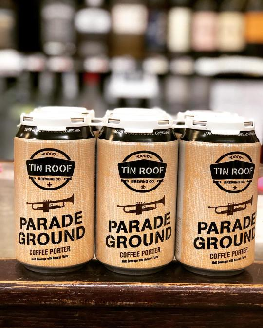 @tinroofbeer Parade Ground Coffee Porter, brewed with @dogs_of_gdc Coffee is now available at our Perkins…