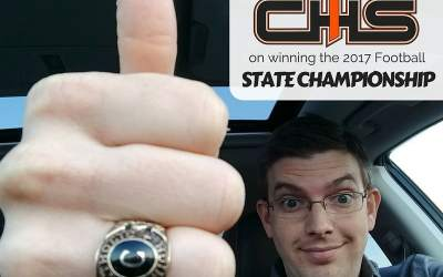 #tbt to this past Saturday when our @chs_br Bears won the 2017 State Championship! 2…
