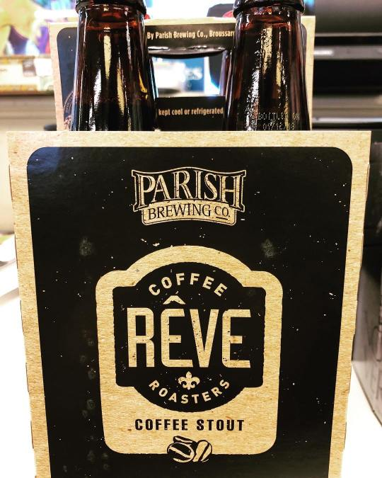 We just received a few more cases of @parishbrewingco Rêve Coffee Stout at our Perkins…