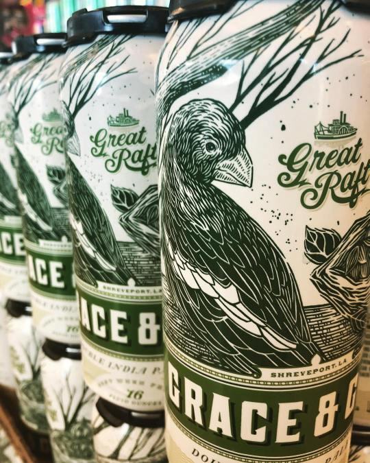 @greatraftbeer Grace and Grit is now available at our Perkins Rd location! #beer #drinklocal #freshhops…